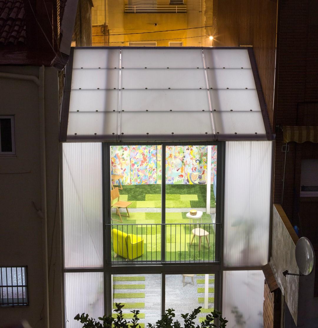 casa poly casa invernadero sostenible barcelona