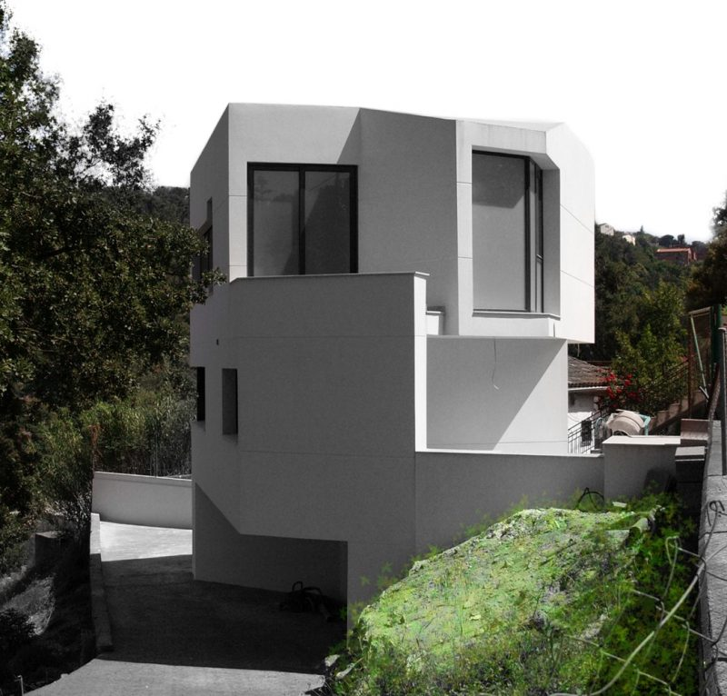 House facades: types and recommendations