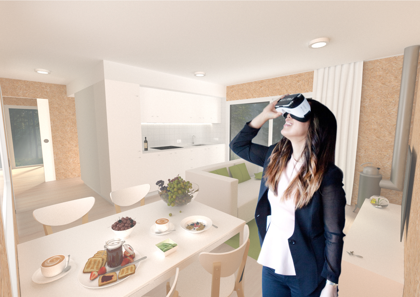 Virtual Reality and Augmented Reality for my house design in Barcelona