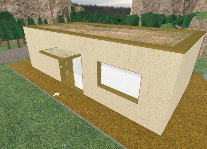 Fachada de madera-cemento (qué es? y qué precio €/m2?)