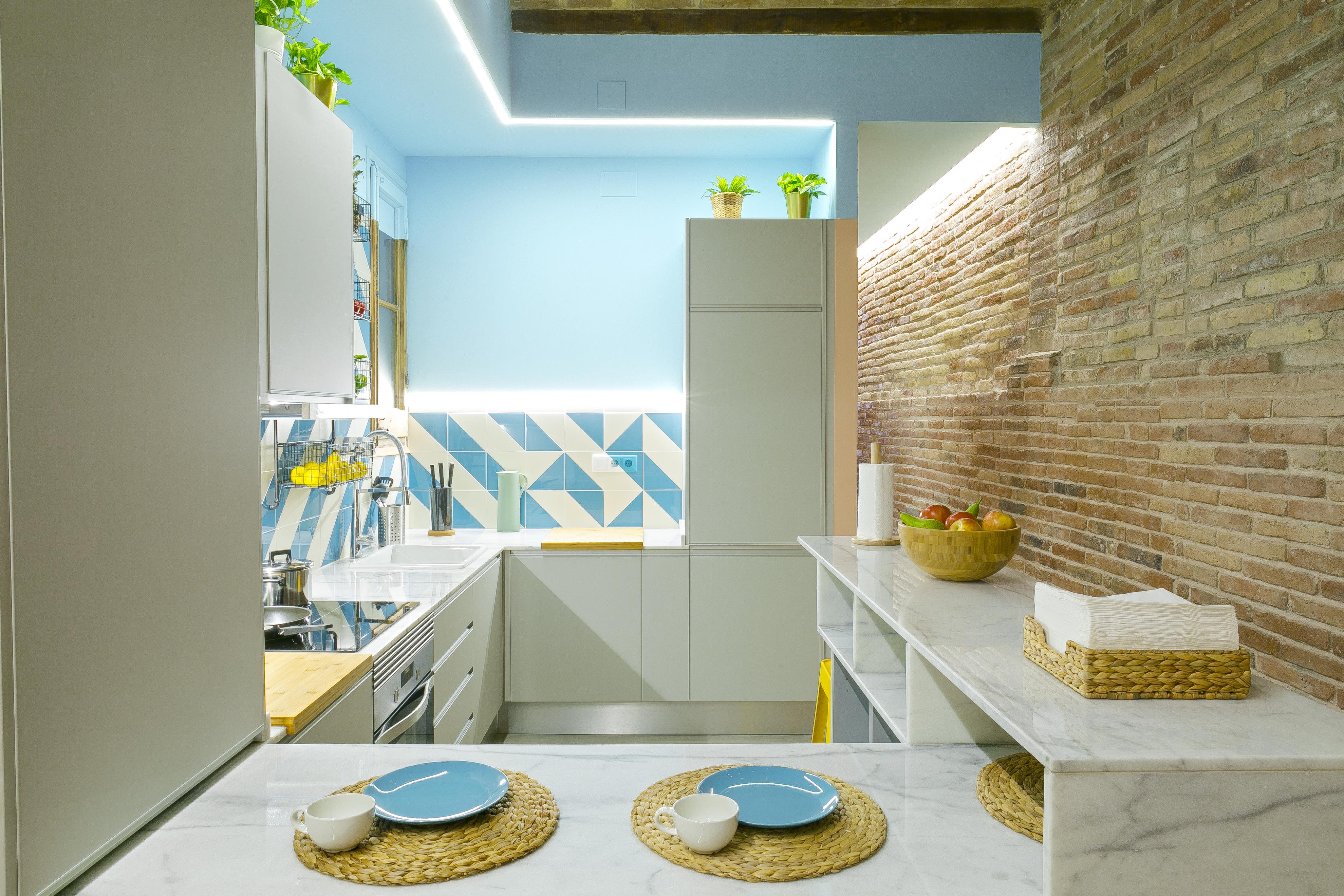Diseño apartamento turístico Barcelona