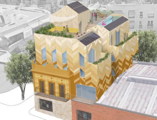 Remonta eficiente de edificio en Barcelona